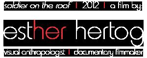 logo esther hertog filmmaker soldier on the roof hebron